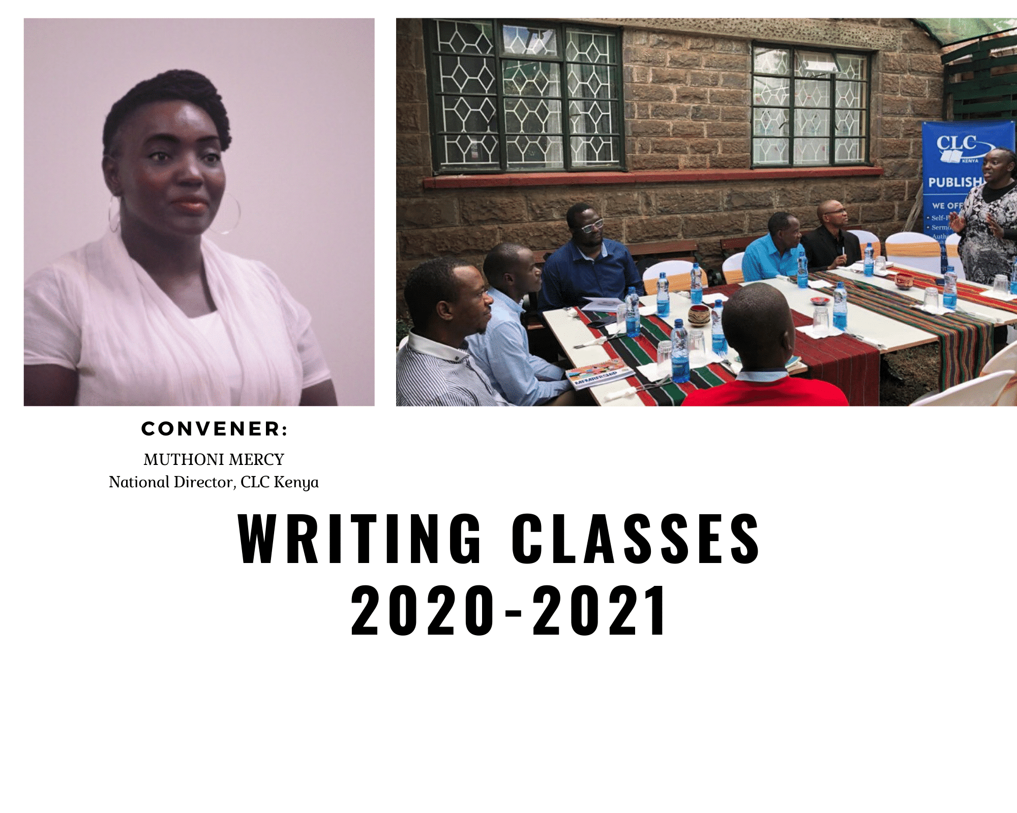 Writing Classes 2020-2021 (with Muthoni Mercy)