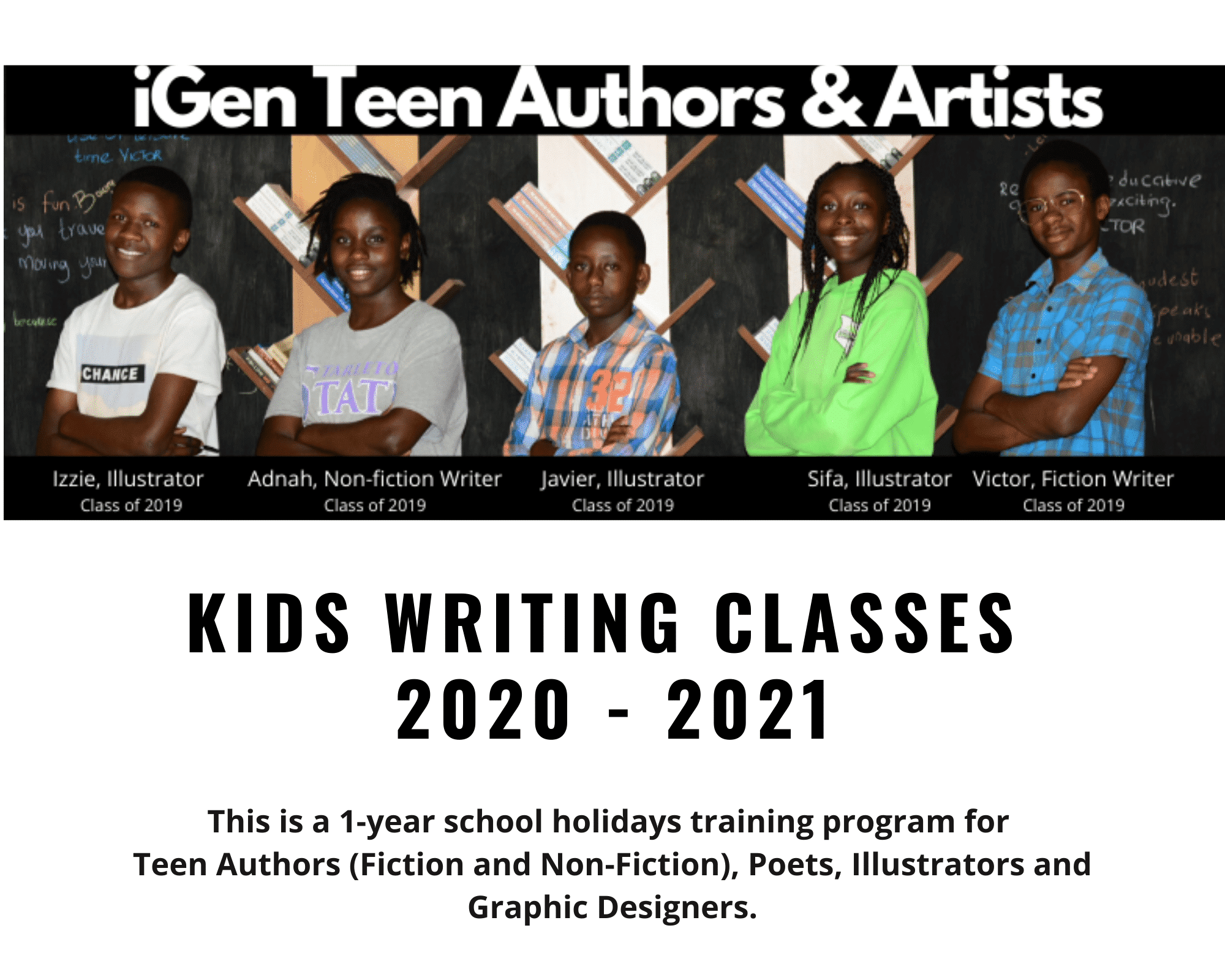 iGen Teen Authors & Artists